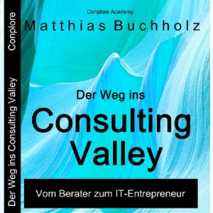 Buchcover - Der Weg ins Consulting Valley - von Matthias Buchholz - Das Consulting 4.0 Buch