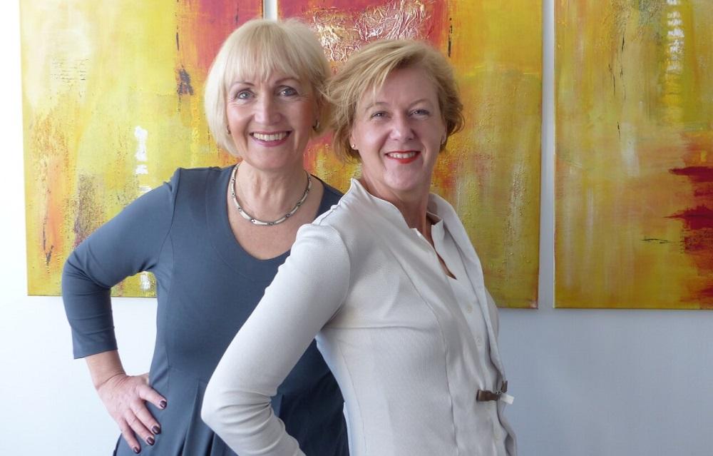 IFM-Führungsteam Angela Jahnkow (l.) & Annina Quitter (r.)