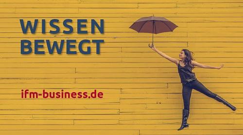 """""""Wissen bewegt"""" - Das IFM-Motto"""