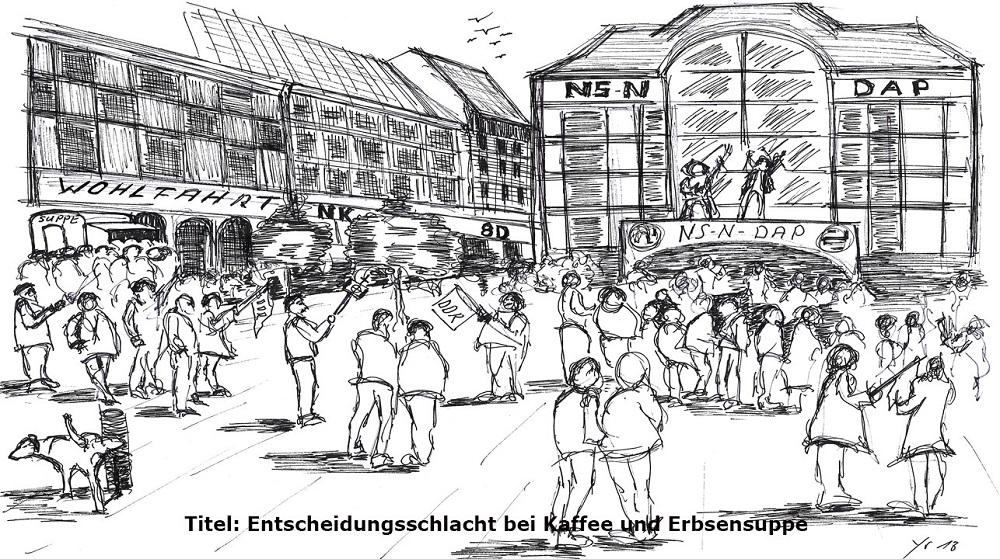 Politik - Altersarmut Deutschland - Demographie - Karikatur