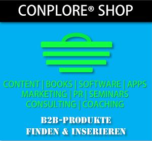 Conplore Shop - B2B Produkte finden und inserieren
