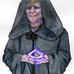 Illustration Darth Merkel | von Stella Hoskin