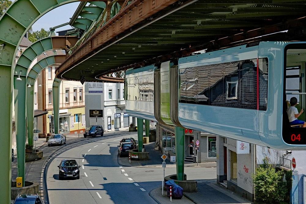 Deutsche Großstädte Platz 17 - Großstadt Wuppertal - Foto StephanieAlbert - pixabay